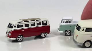 Ten Car Tuesday - Volkswagen Beetles and Busses from Johnny Lightning