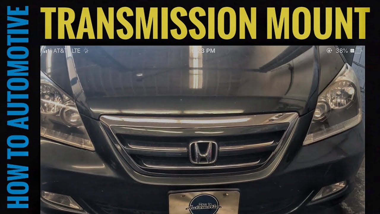 Garage Honda Sion How To Replace The Transmission Mounts On A 2005 2010 Honda Odyssey