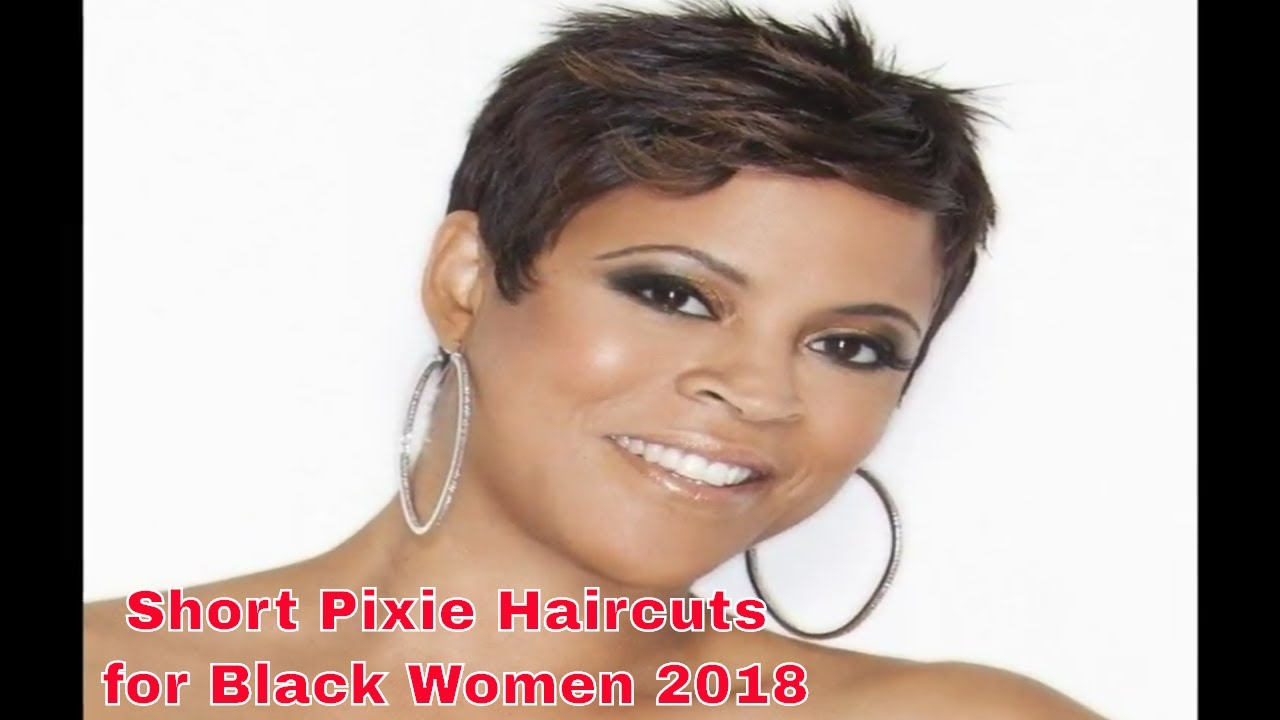 New Short Pixie Haircuts For Black Women African American 2018 Youtube
