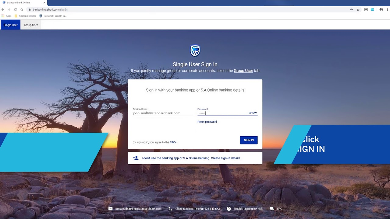 Standard Bank International Online Banking Secure Message Youtube