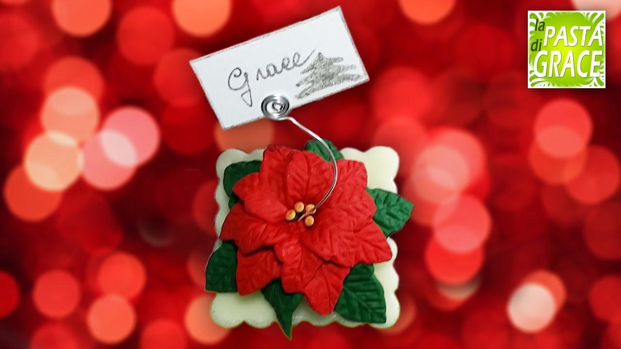Segnaposto Natalizi Pasta Di Zucchero.Segnaposto Stella Di Natale In Pasta Di Mais