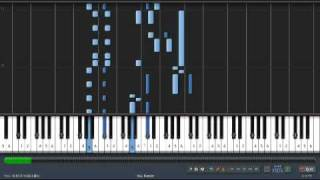 Synthesia - Twilight Princess - Hyrule Field Overture (Theme) Piano Tutorial
