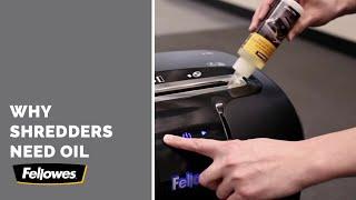 Fellowes Powershred How Oil Shredder