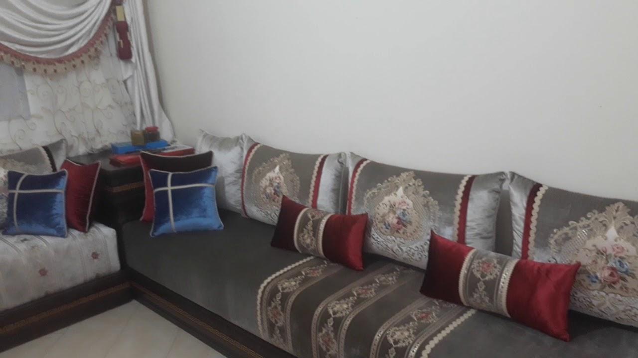 Salon style moderne facon et pose de rideaux meubles ...