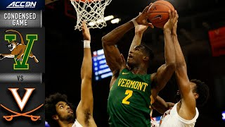 Vermont vs. Virginia Condensed Game | ACC Men's Basketball 2019-20