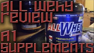 Allwhey Protein Powder can't beat that!- A1 Supplements.com - Review
