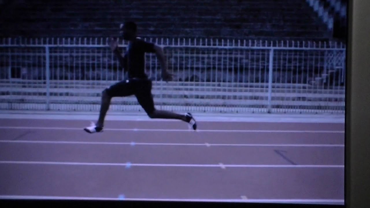 Corexcell Sprint Form Tyson Gay - YouTube