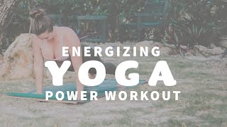 YOGA CLASS ☀️ Power Yoga for Energy & Core Strength | Jupiter Florida