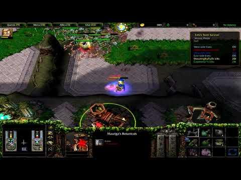 Warcraft 3   ENFO`S TEAM SURVIVAL DEVIL   MAGDAR   ARTHAS IN ENFO