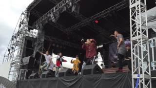 2016/08/28 namimonogatari2016でのライブです! ・The Black One feat.2W...