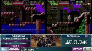Super Castlevania IV in 34:03 - Awesome Games Done Quick 2017 - Part 95