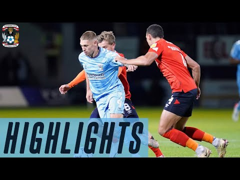 Luton Coventry Goals And Highlights