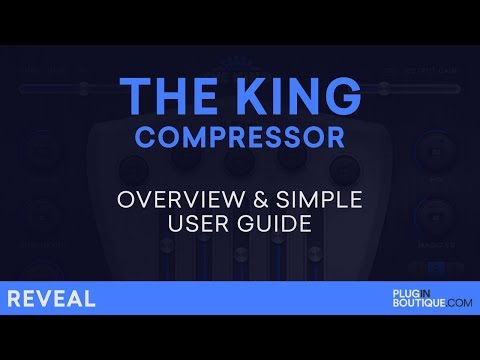 Tighten Bass Frequencies | The King Compressor by W.A. Production