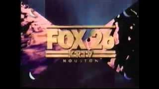 "KRIV-TV Houston ""Fox 26"" Station ID 1996"