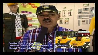 Lawatan KP RELA ke booth RELA Malaysia
