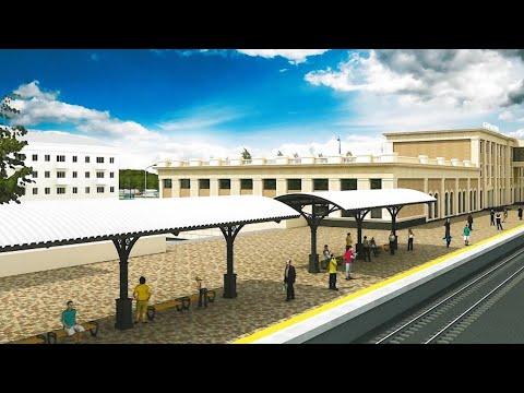 Реконструкция железнодорожного вокзала Саратова
