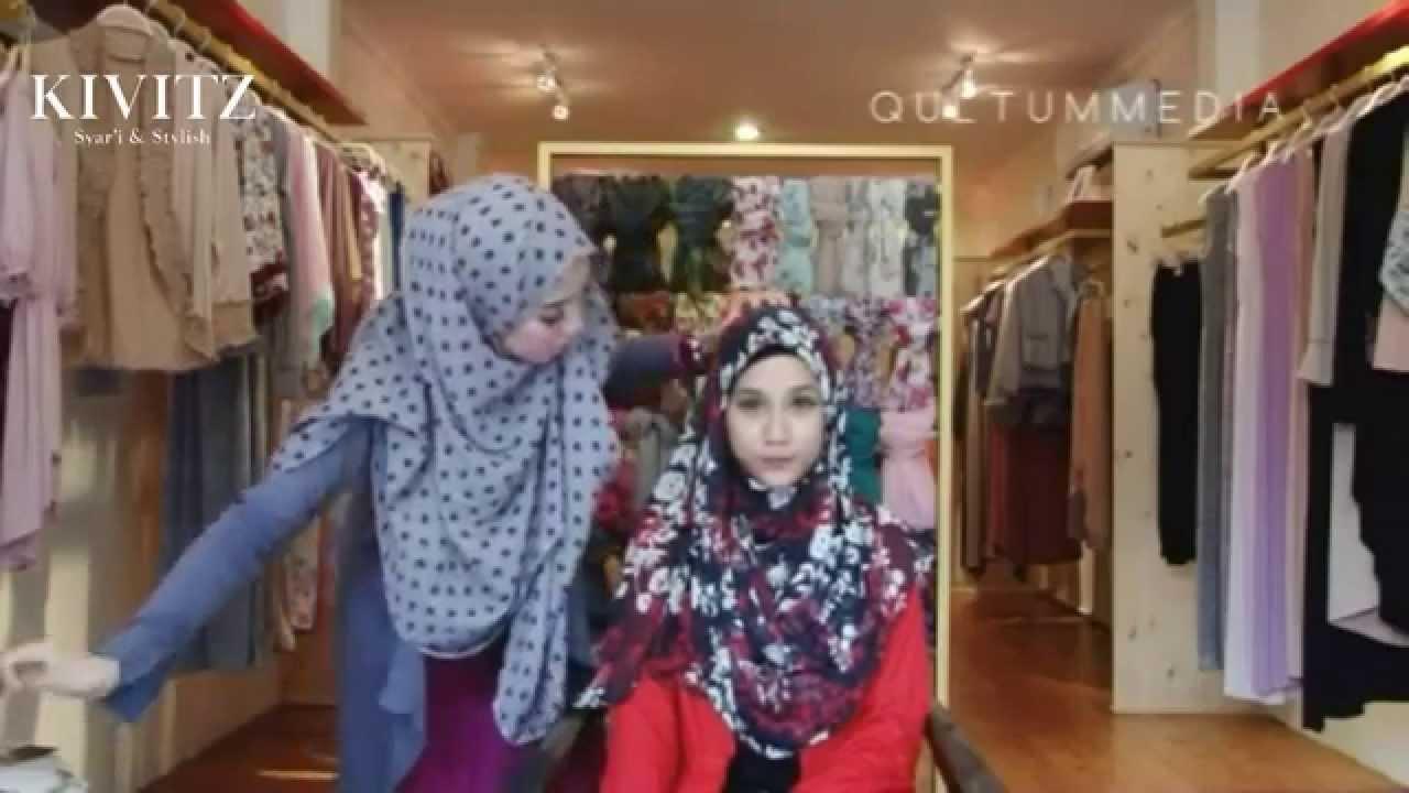 KIVITZ Hijab Tutorial By Fitri Aulia Vol 5 YouTube