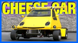The 420 Horsepower CHEESE Car in Automation & BeamNG