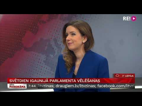 Intervija ar Inu Strazdiņu par par šonedēļ aktuālo ārzemēs