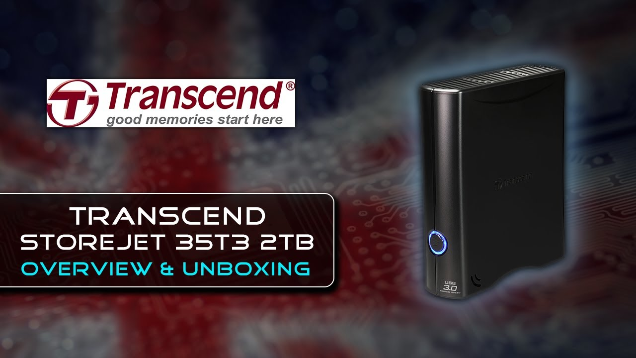Transcend Storejet 35t3 2tb Unboxing Overview First Look Youtube Wd My Book 4tb Hd Hdd Desktop Hardisk Eksternal External 35