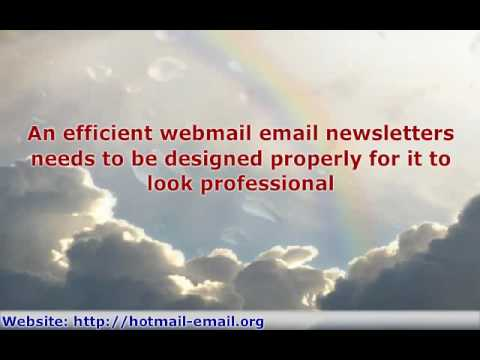 Successful Internet Business Approach - Free Web Mail Market