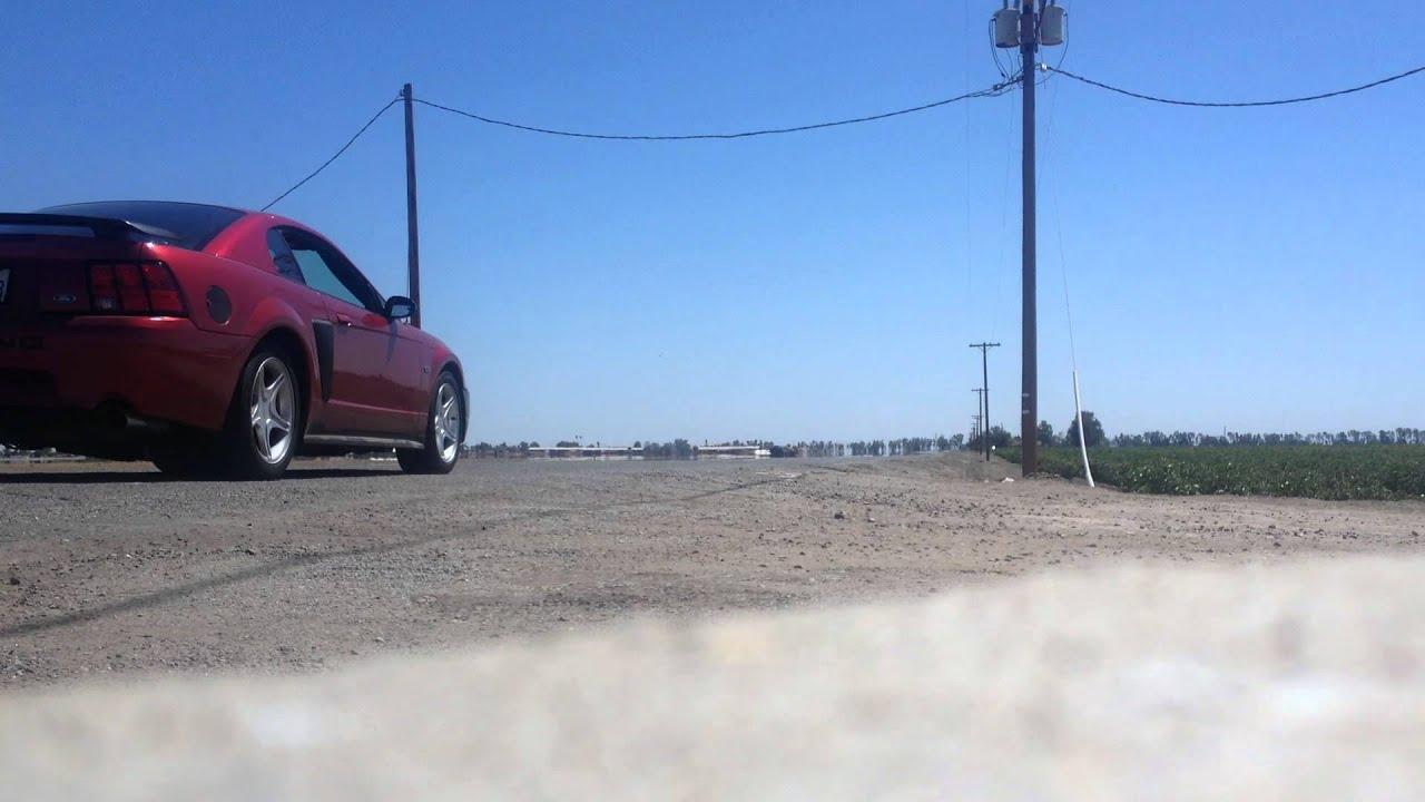 03 Mustang GT BBK Offroad x-pipe Flowmaster super 44's ...