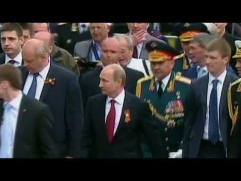 Putin's show of