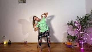 Onkologiczna Joga z krzesłem  I  40 min  I  Yoga with Paulina