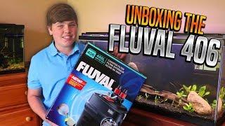 Fluval 406 Canister Filter (Unboxing & Setup)
