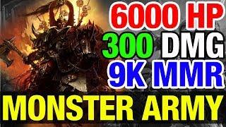 THE MONSTER ARMY OF MATUMBAMAN ! - Dota 2