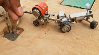 diy tractor construction machine science project | part 4