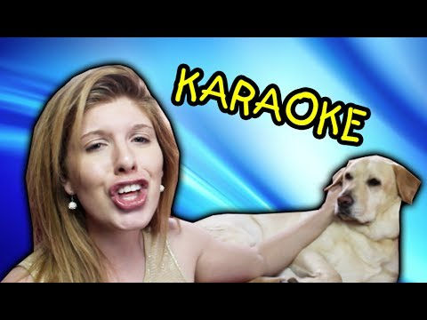 Karaoke With My Dog!!