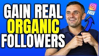 Free Method On How To Gain Followers Organically On Instagram Using Garyvee 1 80 Strategy In 2019
