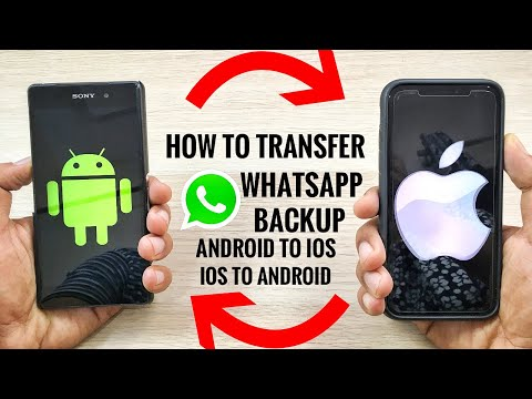 How to move my whatsapp backup from android to iphone