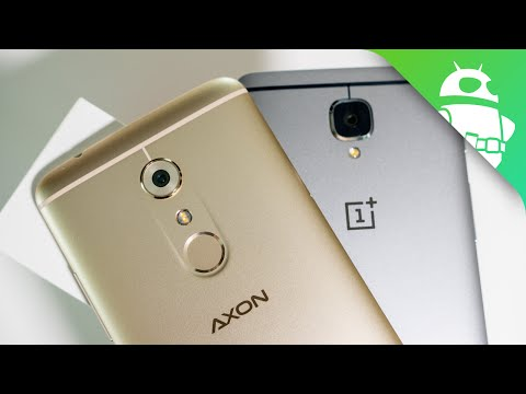 ZTE Axon 7 vs OnePlus 3