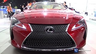 2017 Lexus LC500 - Exterior and Interior Walkaround - Debut at 2016 Detroit Auto Show