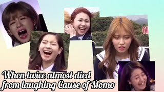 When twice almost died from laughing cause of Momo