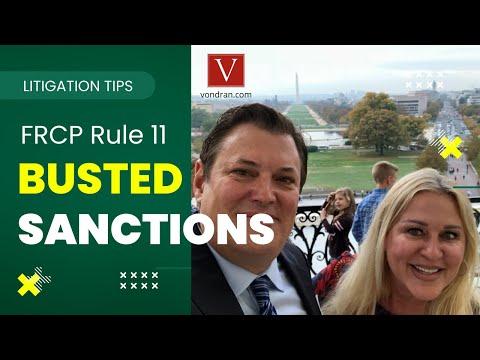 F.R.C.P. Rule 11 Motion for Sanctions explained