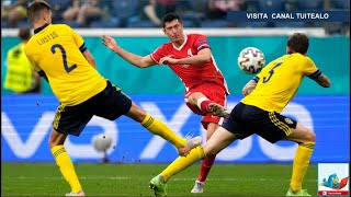 Adiós Lewandowski! En final dramático Suecia vence 3-2 a Polonia que queda fuera de la Eurocopa 2020