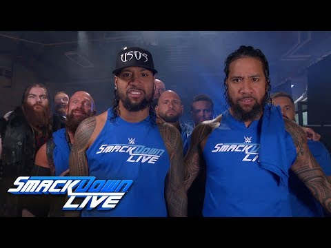 The Usos rally Team SmackDown ahead of Survivor Series: SmackDown LIVE, Nov. 13, 2018