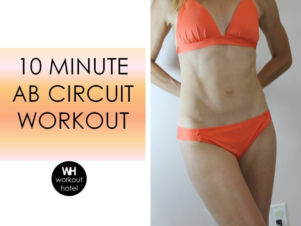 10 Minute Ab Circuit Workout
