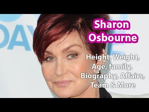 Sharon Osbourne Height Weight Measurements Age Husband Net Worth