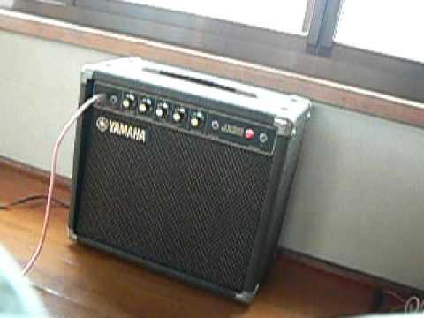 Yamaha jx20 guitar amplifier sample youtube for Yamaha bass guitar amplifier
