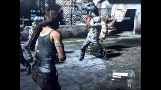 Resident evil 6 PC-Lara Croft Mod