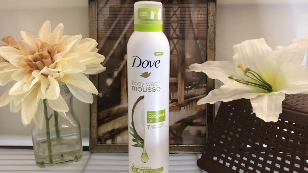 The New Dove Body Wash Mousse Review Come See Youtube