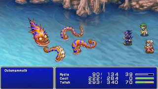 Final Fantasy IV: The Complete Edition (PSP) ALL Bosses