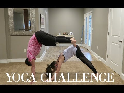 couples yoga challenge !!!!