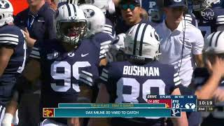 Top 10 Plays from the First Half of the 2019 BYU Football Season