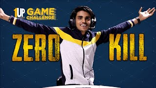 Zero Kill Challenge with Maxtern   1Up Game Challenge   PUBG Mobile