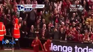 فارس عوض - ليفربول 4-0 فولهام 22.12.2012